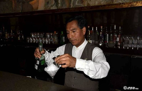 Barkeeper in Peru