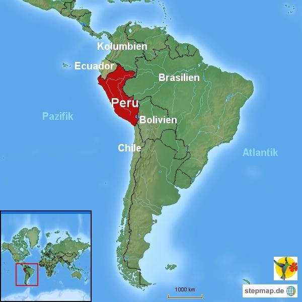 Peru Karte.über Peru Reisezeit Landesinformationen Und Reisetipps
